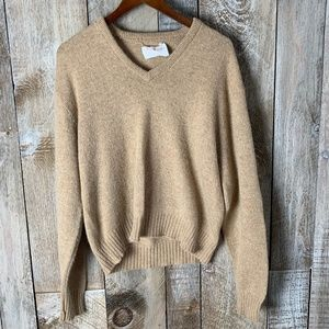 Jantzen Vintage Wool Cream  Sweater